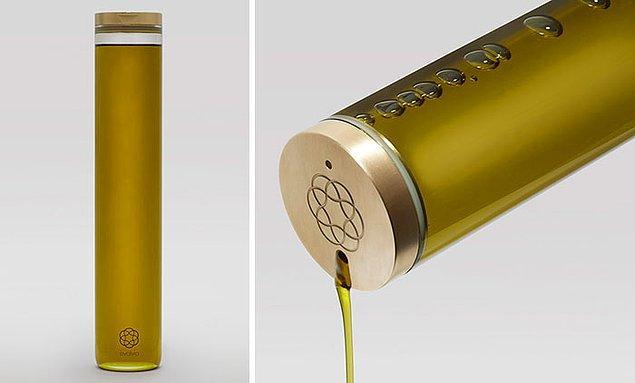 28. Bir zeytinyağı markasının yeni şişe tasarımı...🍈