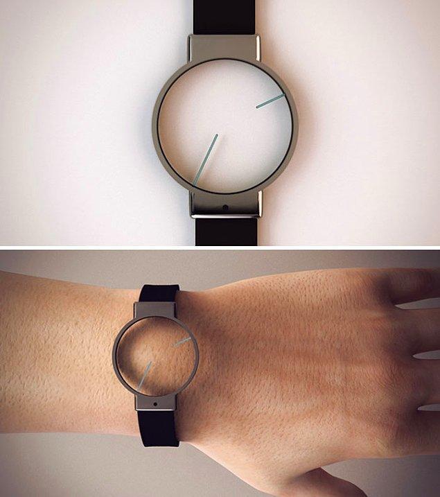 30. Minimal bir saat tasarımı...