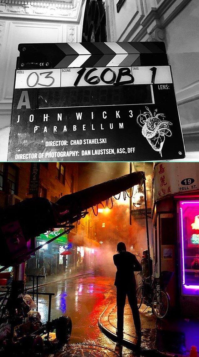 6. John Wick 3'ün setinden yayınlanan iki fotoğraf: