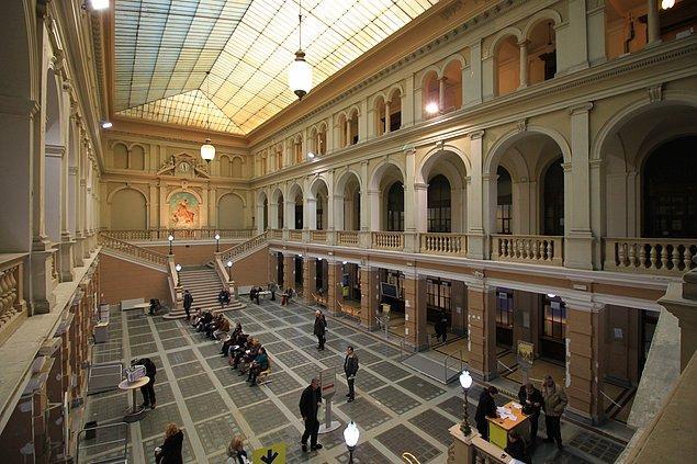 Mektup Torino Merkez Postanesinde ortaya çıktı.