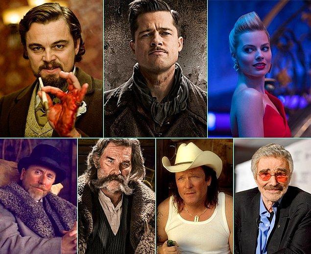 5. Quentin Tarantino'nun yeni filmi Once Upon A Time in Hollywood'un oyuncu kadrosu şekillenmeye devam ediyor.