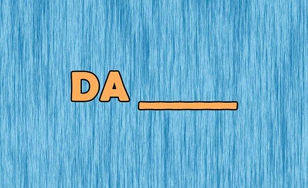 4. Şimdi de görselde yer alan kelimeyi ilk aklına gelenle tamamla!