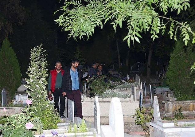Mezarlıkta ağlayan kızın kim olduğunun ortaya çıkmasının ardından olay kapanmadı.