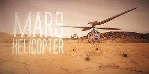 NASA, Mars'a Helikopter Gönderiyor!