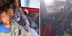 2 Ay Önce Otobüs Kaçıran Çocuklar Şimdi de Minibüs Kaçırdı