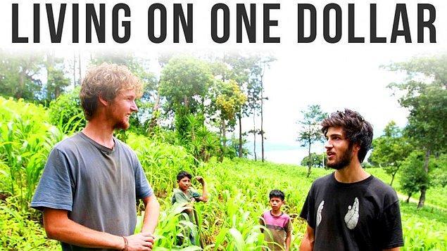 15. Amerikalı dört arkadaşın Guatemala taşrasına gidip günde bir dolarla iki ay geçirerek yaşanan sefalete 'gerçekten' tanıklık ettiği 'Bir Dolara Yaşamak' belgeseli ile devam ediyoruz. Öyle gidip görüp çekmekle olmuyor deyip gerçekten deneyimlemişler. Şükretmek için iyi bir yapım.