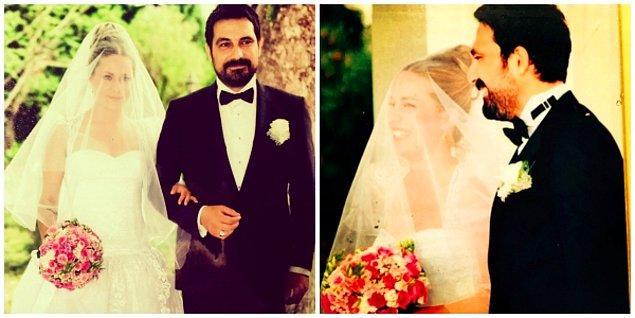 3. Bülent İnal'ın başarısının ardında da mutlu yuvası var elbette: Yakışıklı oyuncu 2011 yılında Melis Tüysüz ile dünyaevine girdi.