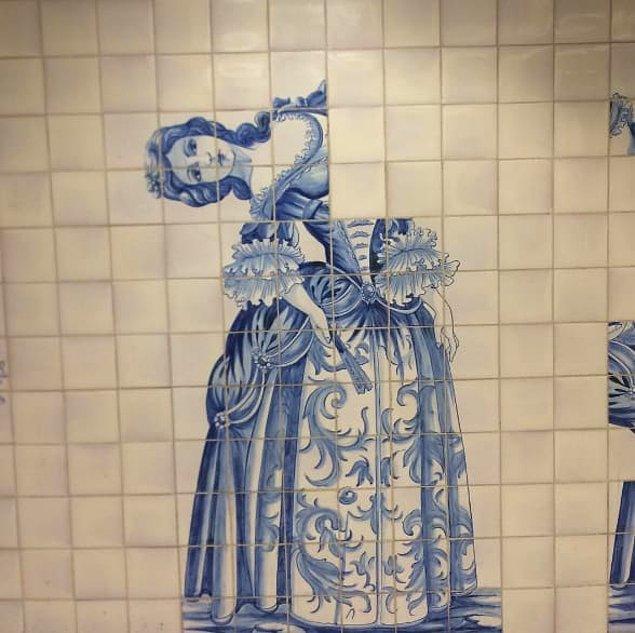 6. Mozaik taşlarını döşemek için cehennemden çıkmış...