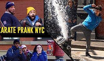 New York Sokaklarının Altını Üstüne Getiren Muhteşem Karate Şakası