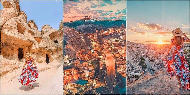 Kapadokya'nın ülkemizde turistlerin gözdesi olan bir yer olduğunu biliyoruz.
