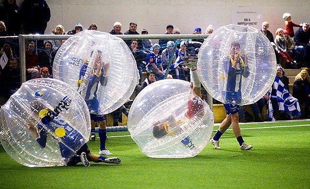 4. Baloncuk futbolu