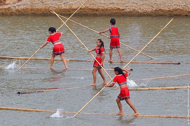 7. Bambu drift yarışı
