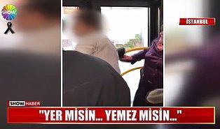 Suç Üstü Yakaladıkları Tacizciyi Otobüste Bir Güzel Paralayan Kadınlar