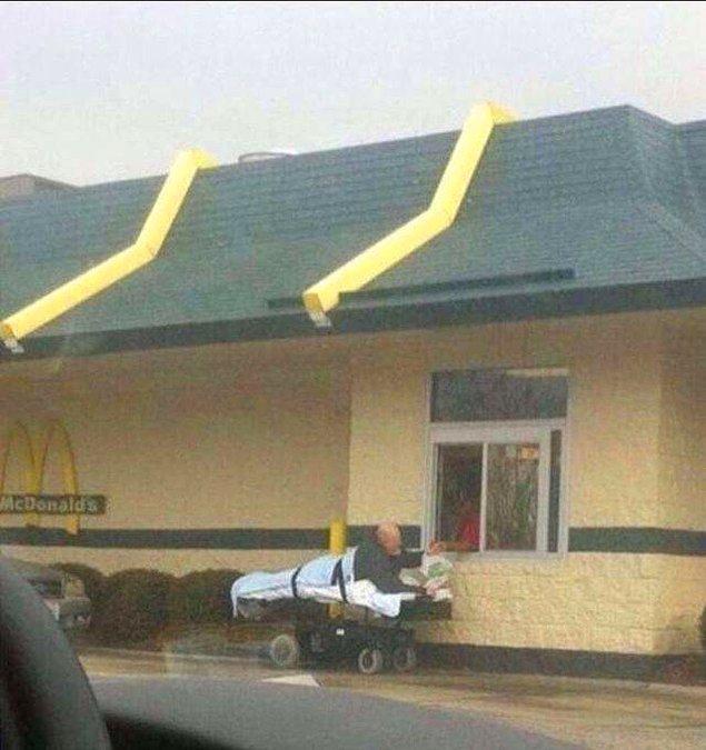 19. Fast food bağımlılığı işte böyle bir şey...😔