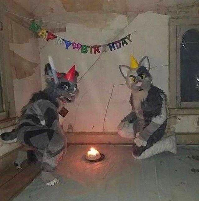 20. Konseptli bir doğum günü partisi olabilir...