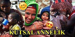 En Kutsal Sevgi! Annelik Bağının Her Yerde Güçlü Olduğunu Gösteren Kalplerinizi Isıtıcak 16 Kare