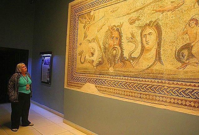 17. Gaziantep Zeugma Mozaik Müzesi