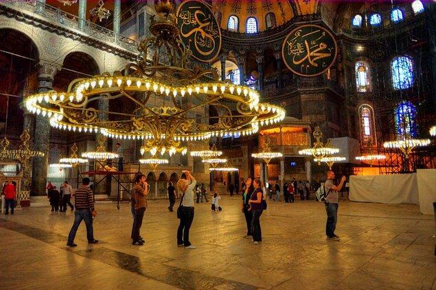 20. İstanbul Ayasofya Müzesi