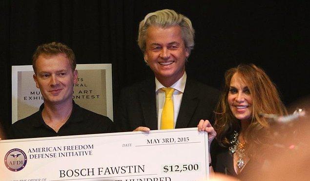 Jüri üyeliğini Wilders ile Bosch Fawstin yapacak