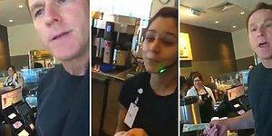 Müslüman Kadına Irkçı Sözler Sarf Eden Adama Servis Yapmayan Kafe Görevlileri