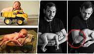 Profesyonel Bebek Fotoğrafçılığına Özenen Ailelerin Umduğunu Bulamadıkları 30 Fotoğraf Denemesi