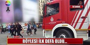 Bu Da Oldu! İstiklal Caddesine Giren İtfaiye Aracına Trafik Cezası Kesildi!