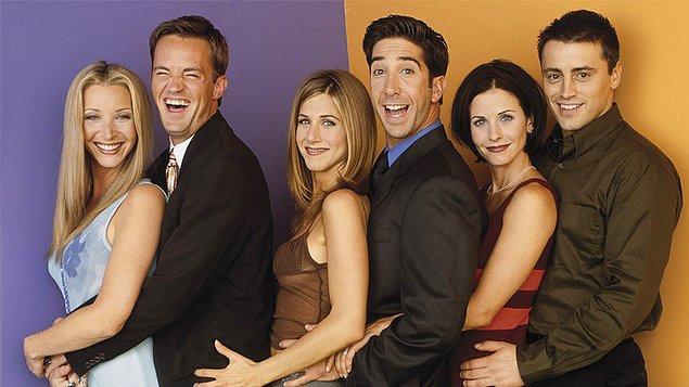 1. Friends - IMDb 8,9