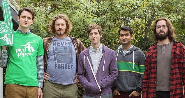 4. Silicon Valley - IMDb 8,6