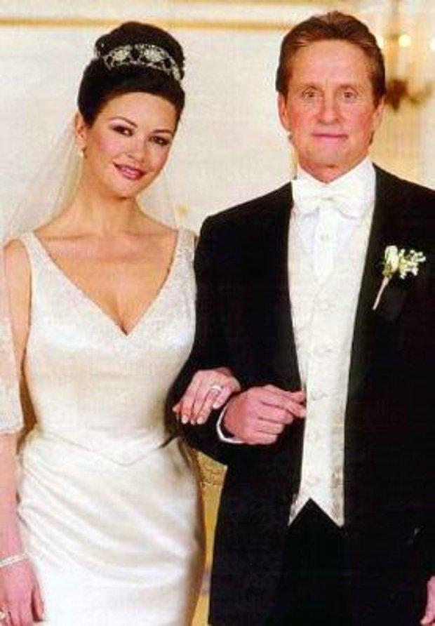 Catherine Zeta-Jones ve Michael Douglas