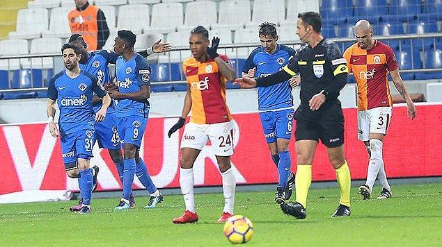 22. Hafta: Kasımpaşa 2-1 Galatasaray