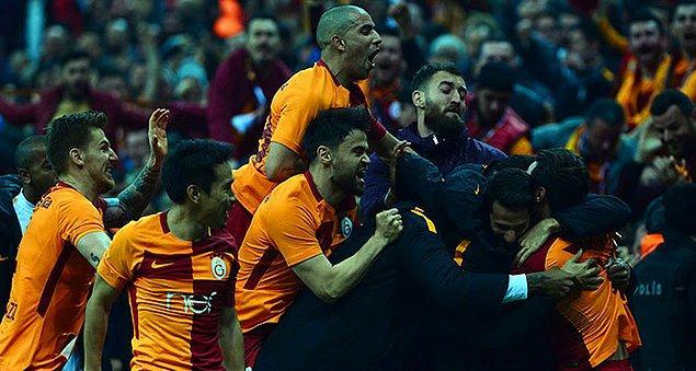 25. Hafta: Galatasaray 2-1 Konyaspor