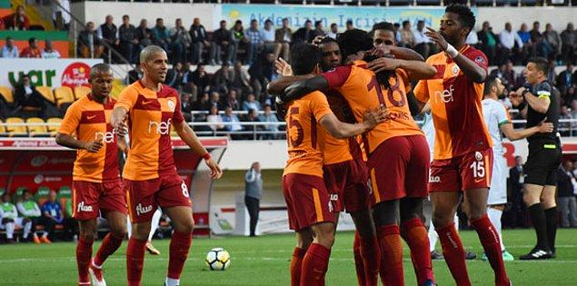 30. Hafta: Alanyaspor 2-3 Galatasaray