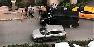Yine Taksici UBER Kavgası: Aracın Geçişine İzin Vermediler, Hasar Verip, Tehdit Ettiler İddiası