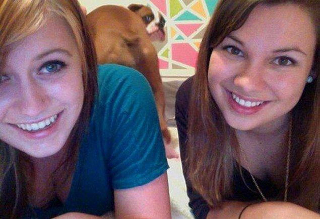 19. Köpeğiniz selfieyi beğenmediğini nasıl gösterir?
