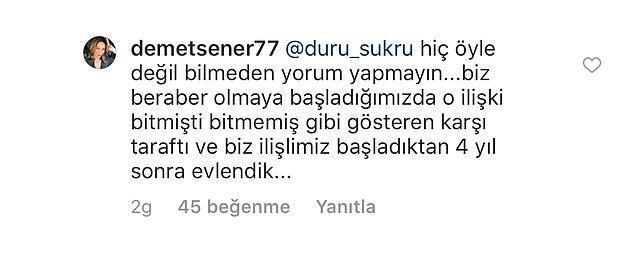Ama gelen yorumlardan çok, Demet Şener'in cevapları gündeme bomba gibi düştü!