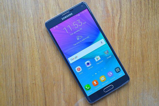 13. Samsung Galaxy Note 4 SAR Değerleri