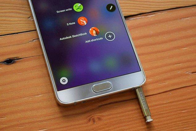 12. Samsung Galaxy Note 5 SAR Değerleri