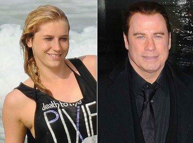 3. Ke$ha ve John Travolta