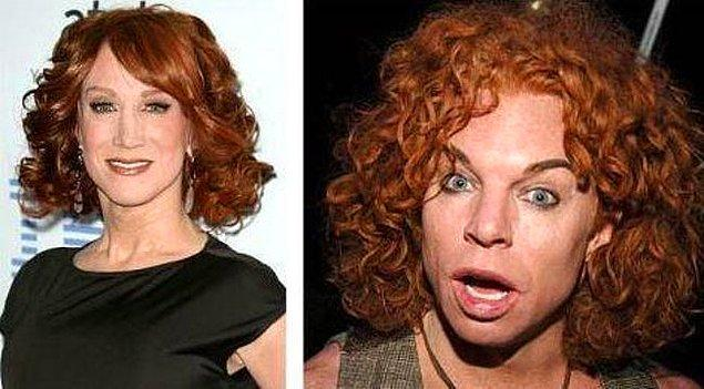 14. Kathy Griffin ve Carrot Top