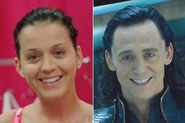 18. Katy Perry ve Tom Hiddleston