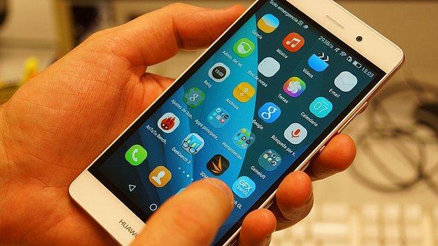 18. Huawei P8 Lite SAR Değerleri