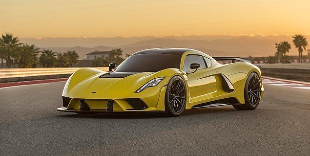 1. Hennessey Venom GT (434.5 kms)