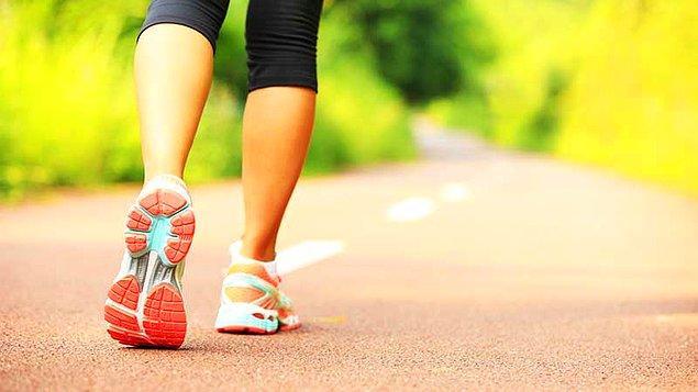 1. Yürüyüş her şeyin ilacı.