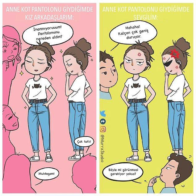 15. Nedense her erkeğin bu pantolona karşı bir önyargısı var... 😒