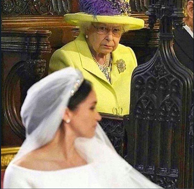 Önce Kraliçe uyuyacak!