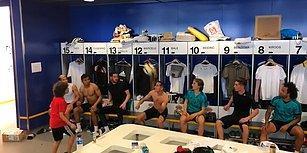 Marcelo, Real Madrid Soyunma Odasına Şov Yapan 8 Yaşındaki Oğlu Enzo'dan Rövanşı Aldı
