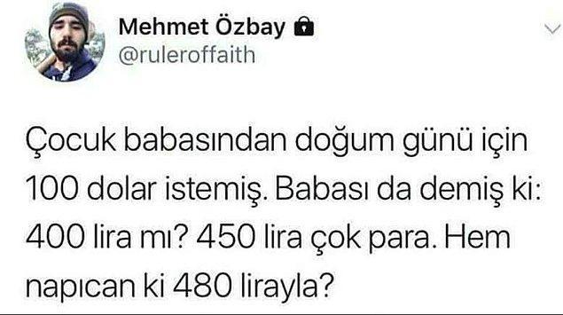 13. 500 Lira iyi para.