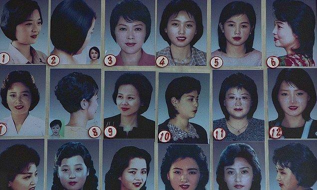 1. Kuzey Kore'de modaya uymak ya da moralinizi düzeltmek için saç kestirmeyi düşünüyorsanız, iki kere düşünmenizi tavsiye ederiz. Çünkü kafanıza göre saç kestirmeniz yasak!