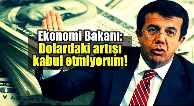 12. Görmezden gelme tekniğiyle Türk Lirasına değer katmaya çalışan Maliye Bakanımız Sayın Nihat Zeybekçi 👏
