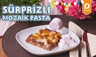 İftar Sonrası Tatlı Keyfini Taçlandıran Lezzet: Sürprizli Mozaik Pasta Nasıl Yapılır?